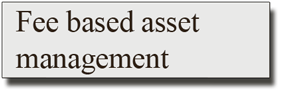 Fee based asset management